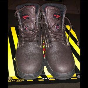 Skechers Like New Steel Toe Work Boots Sz 9